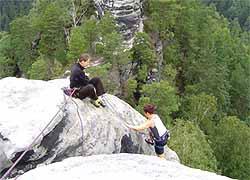 Kletterausrüstung Verleih Dresden : Klettern mit der kletterschule lilienstein ihre bergschule im